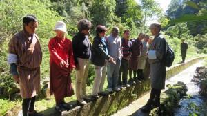 Mission team visit to Thangshang Irrigation scheme