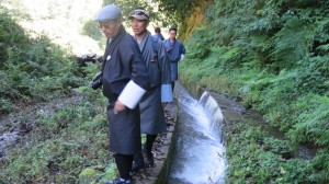 Visit to Tongshang Irrigation Scheme